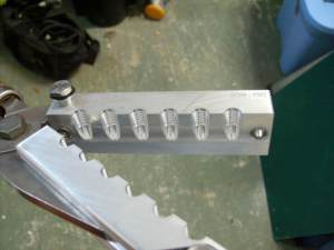 Six cavity mold