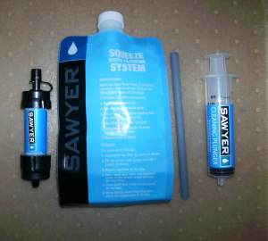 4 piece Sawyer filter kit